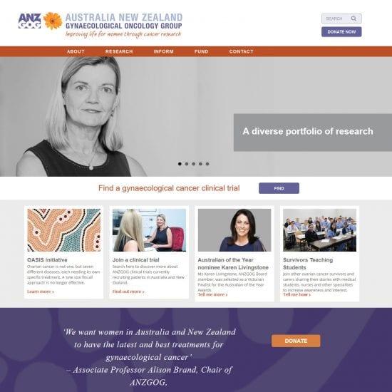 ANZGOG website