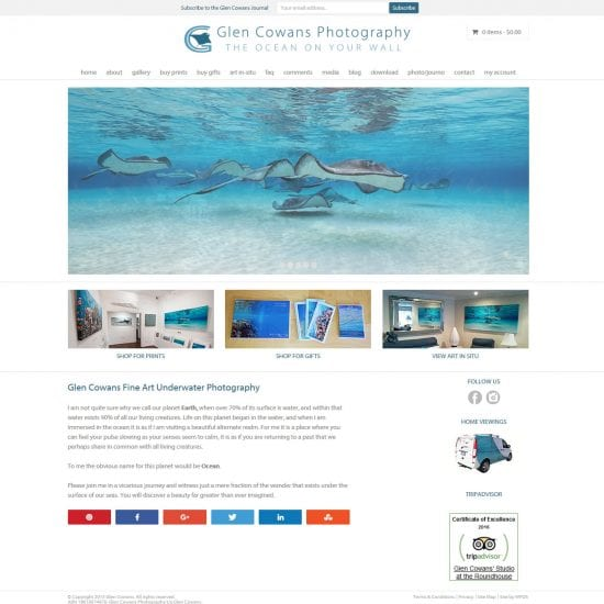 Glen Cowans Website