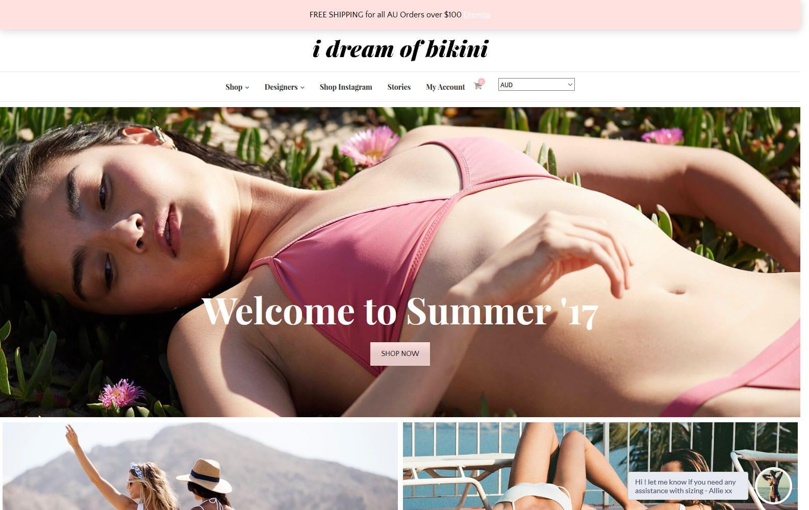 I Dream of Bikini