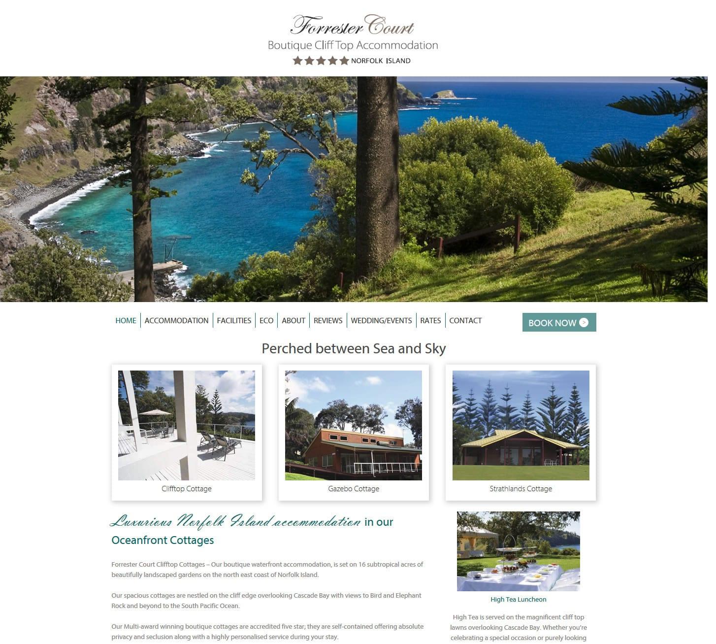 Forrester Court Website